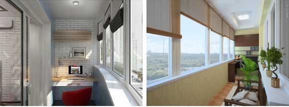 Кабинет на балконе, как из лоджии сделать рабочее место?.